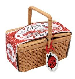 Schylling Lady Bug Tea Set Basket