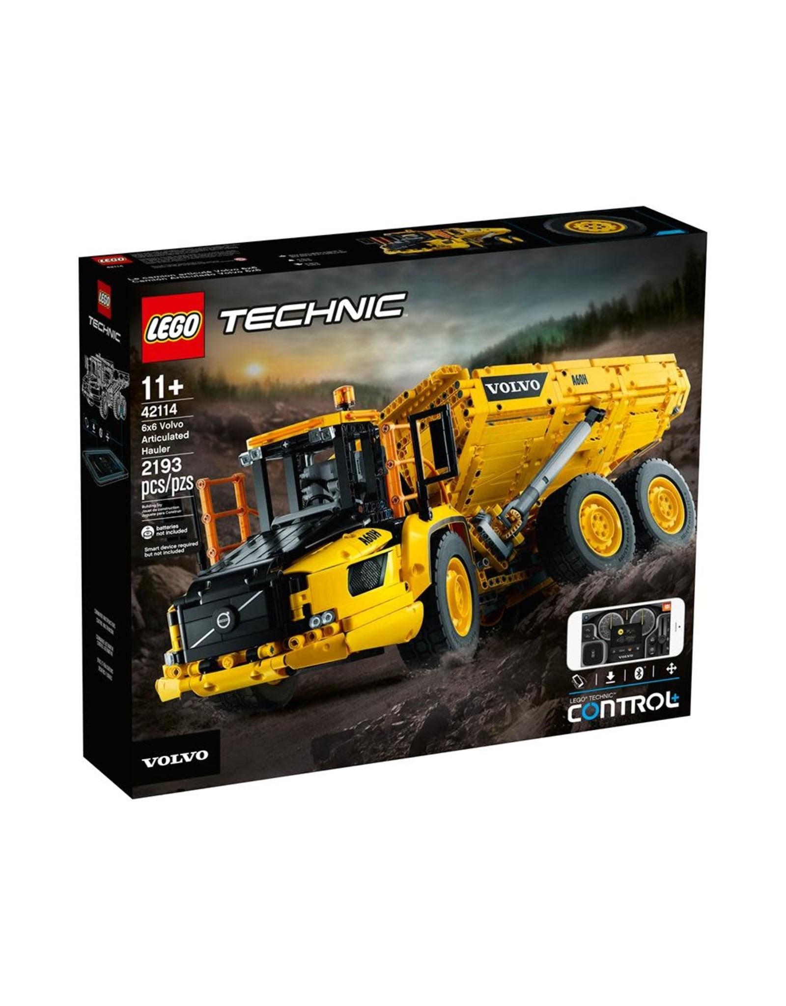 LEGO Technic - 42114 - 6X6 Volvo Articulated Hauler
