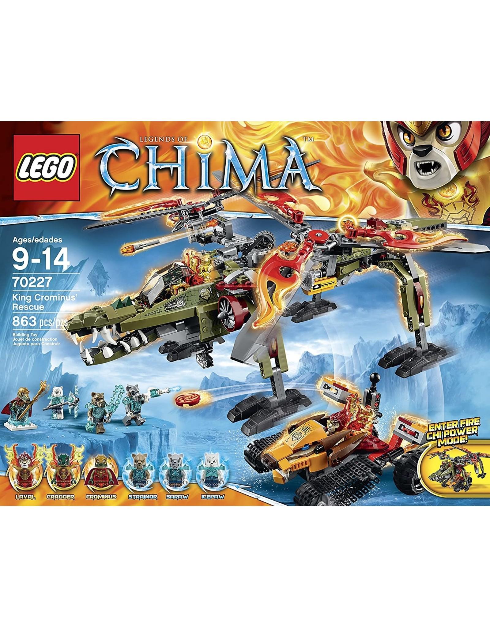 LEGO Chima 70227 King Crominus' Rescue V39