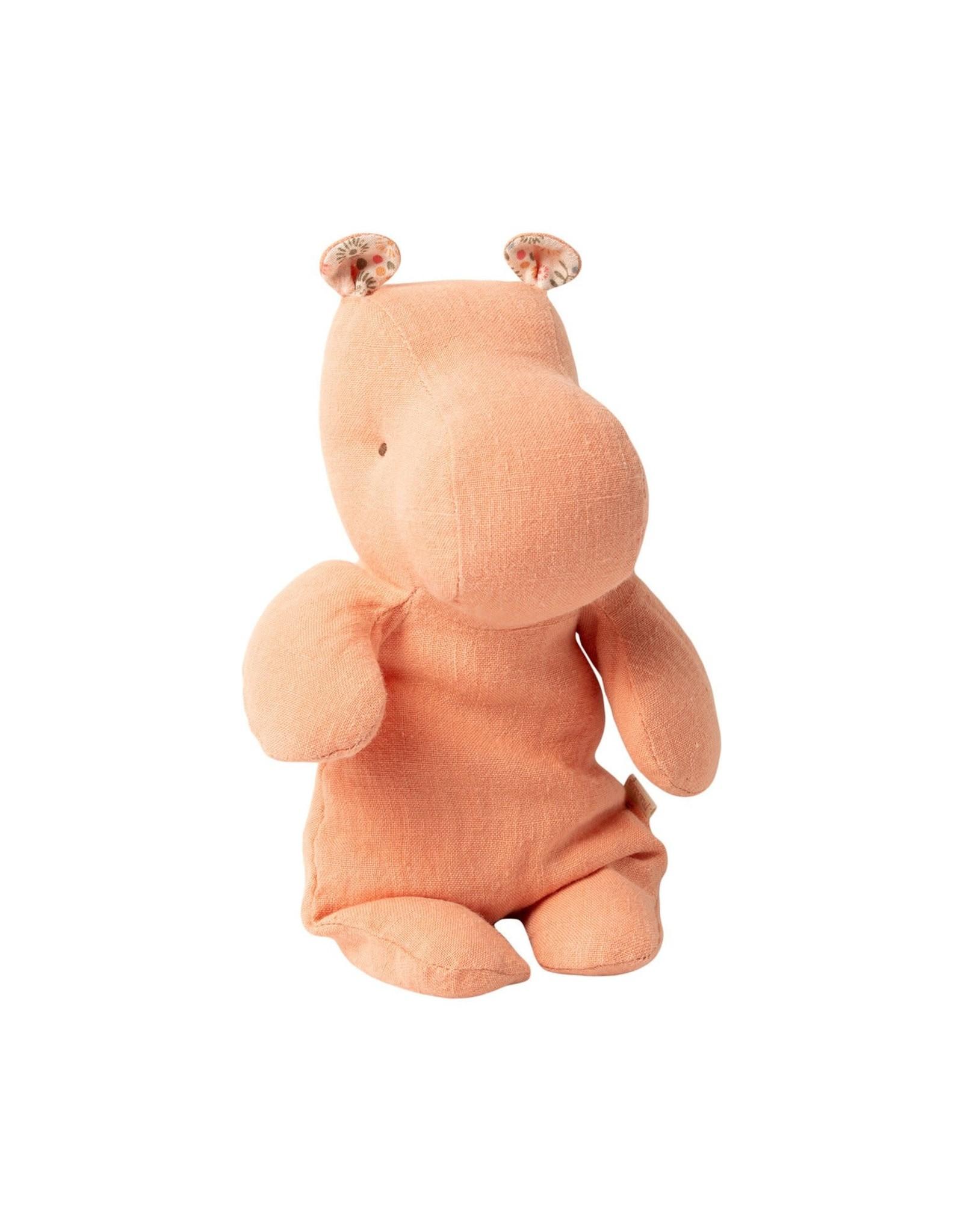 Maileg Safari Friends  Small Hippo - Apricot