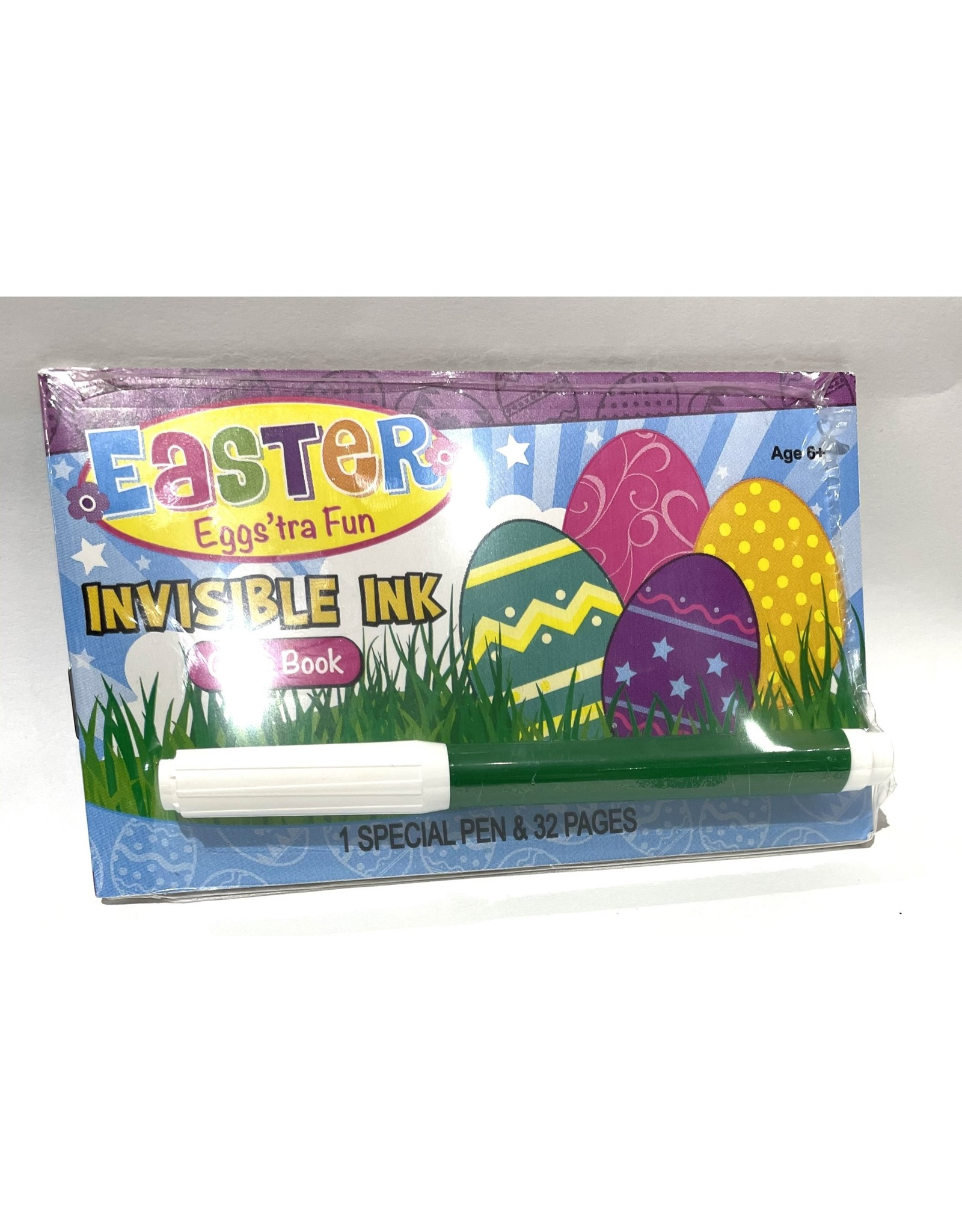 LEE Publications Eggs'tra Fun Invisible Ink Game Book