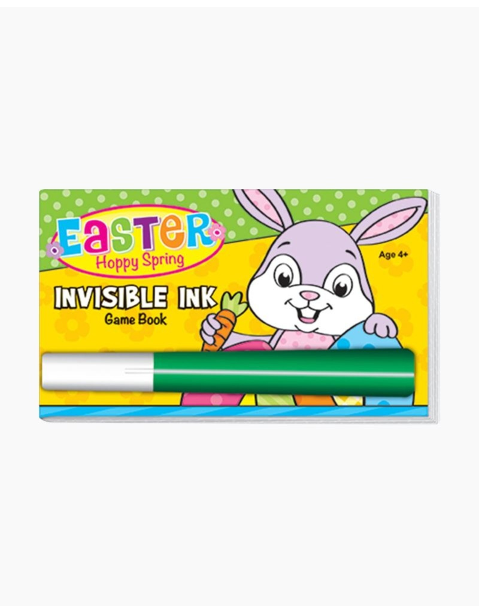 Easter - Hoppy Spring Invisible Ink Game Book