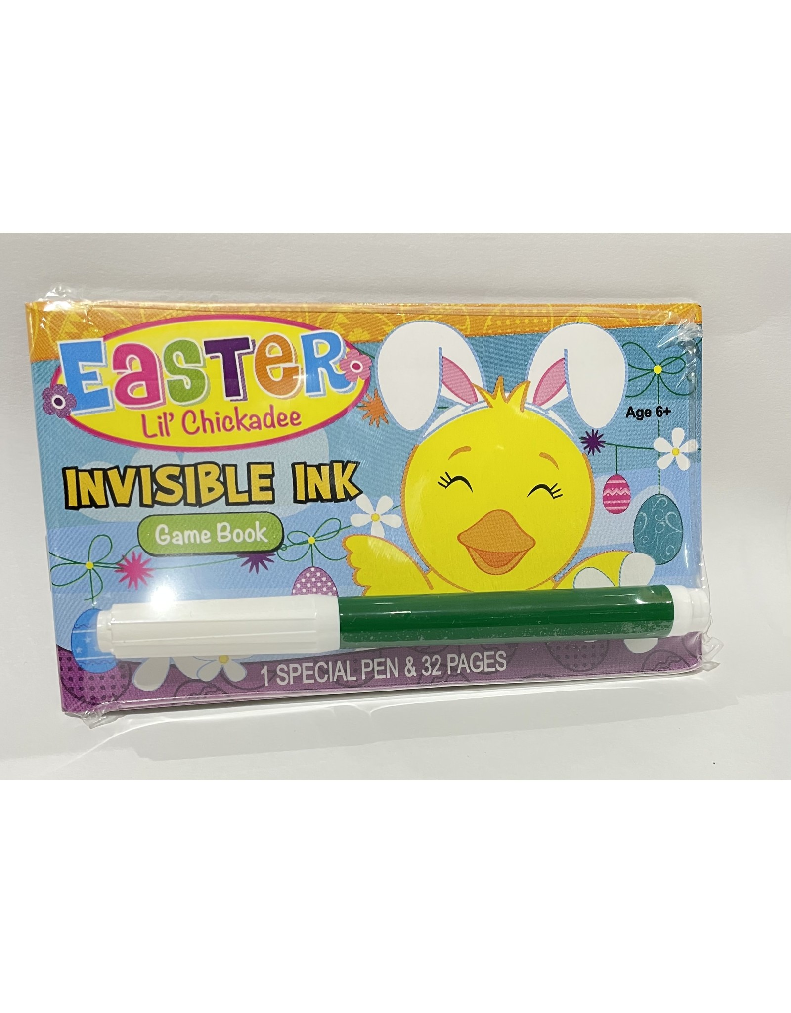 Lil' Chickadee Invisible Ink Game Book