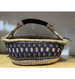 Big Blue Moma Colourful Bread Basket P/G/N