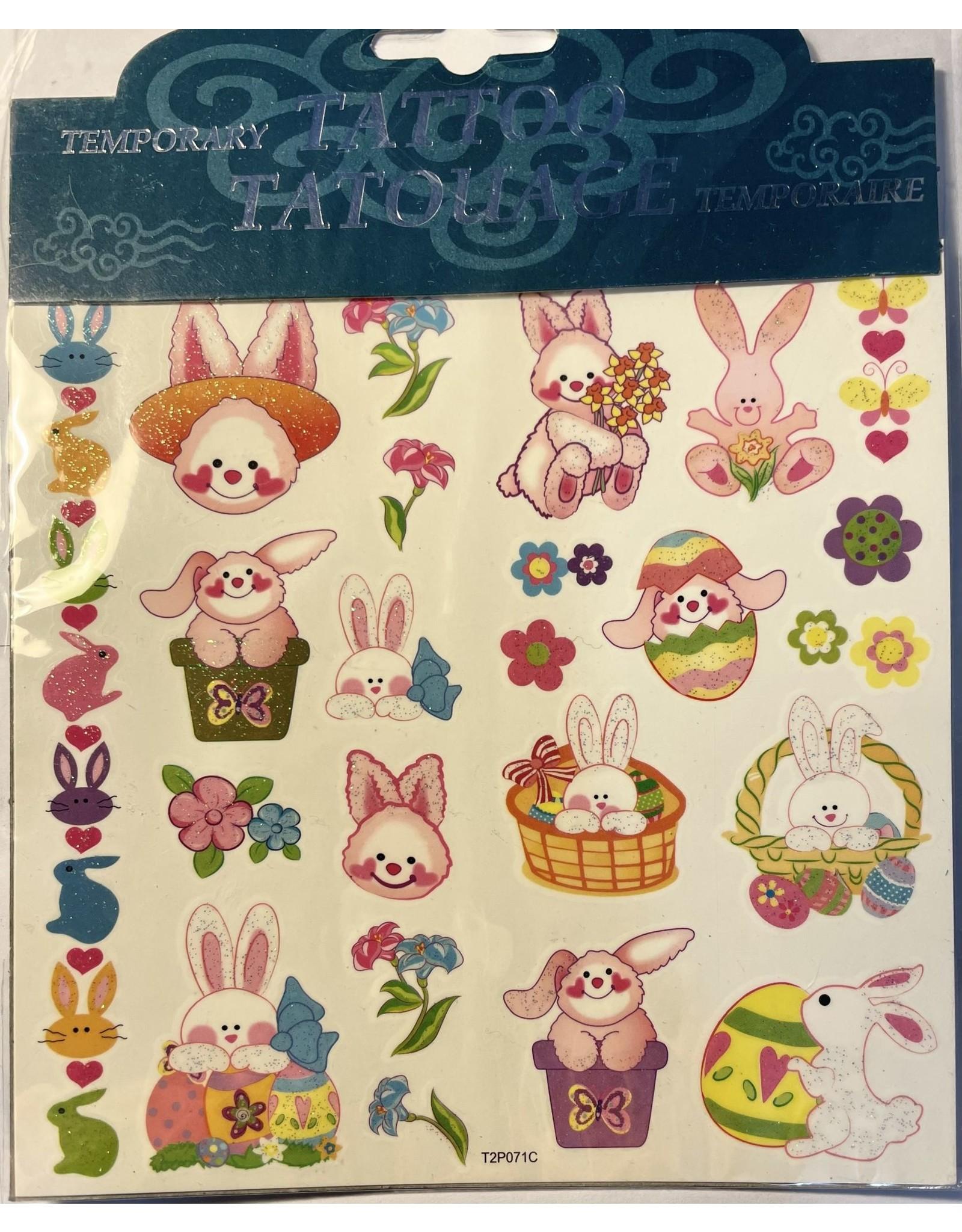 Handee Easter Tattoos Bunnies