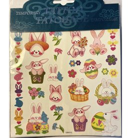Handee Easter Tattoos Bunnies