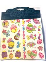 Easter Tattoos Eggs & Butterflies