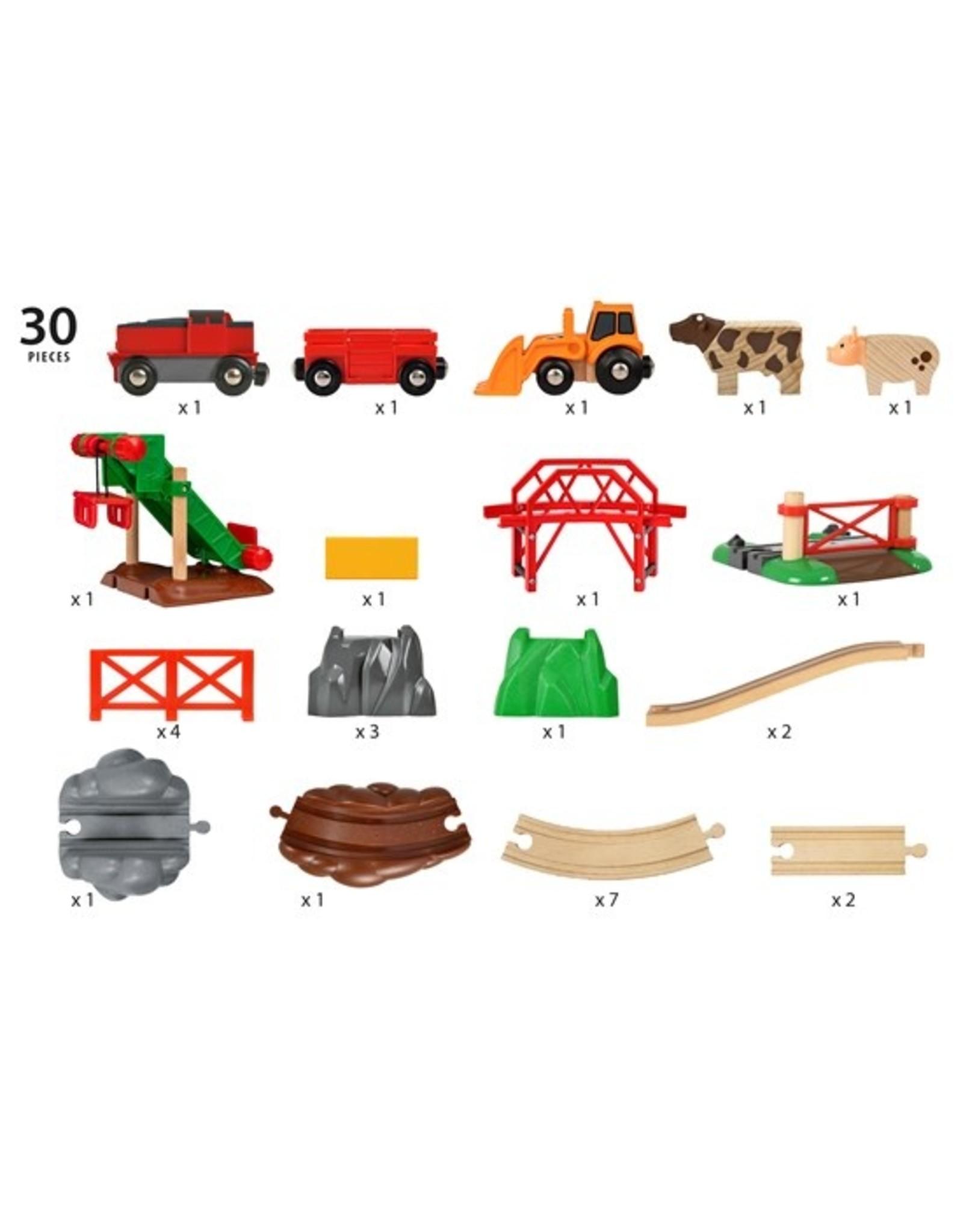 Brio Animal Farm Set