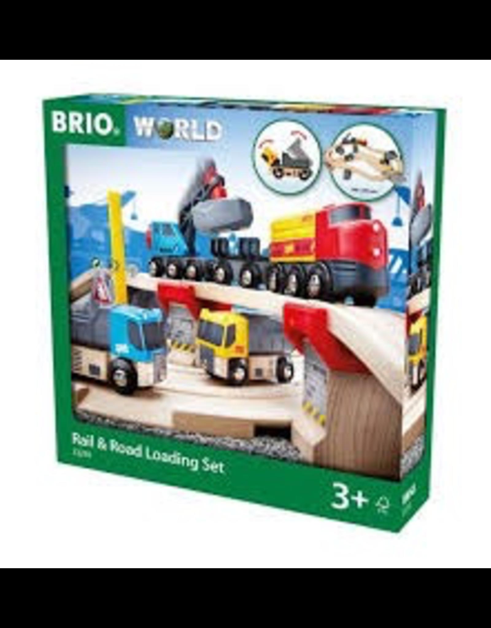 Brio Rail & Road Loading Set