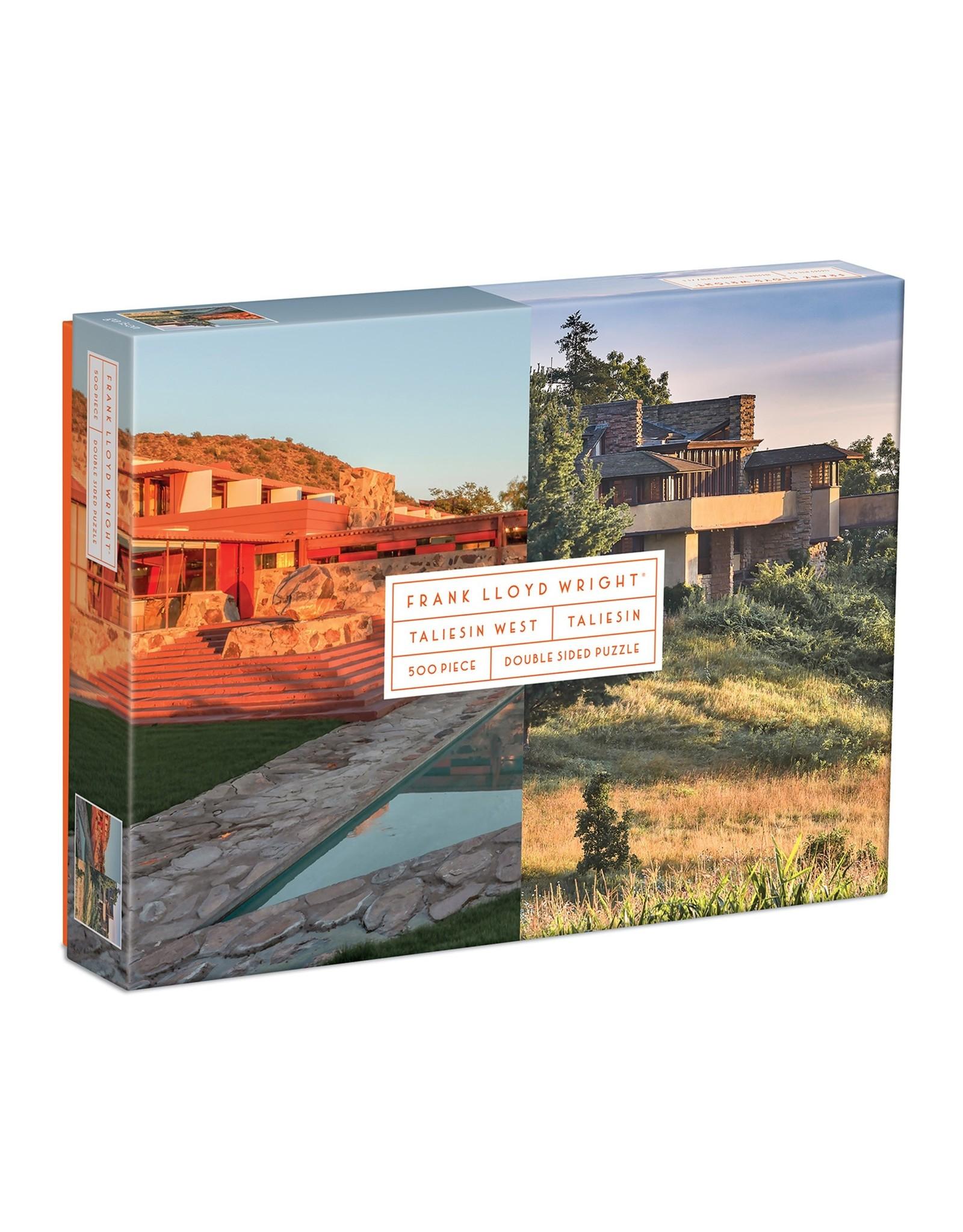 Galison Frank Lloyd Wright Taliesin West/Taliesin 500 piece puzzle