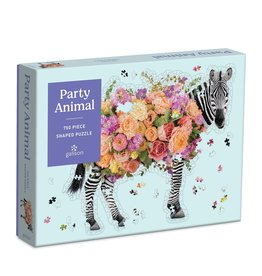Galison Party Animal 750pc Shaped Puzzle