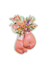Galison Flower Power 750pc Shaped Puzzle
