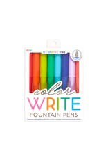 Ooly Color Write Fountain Pens - Set Of 8