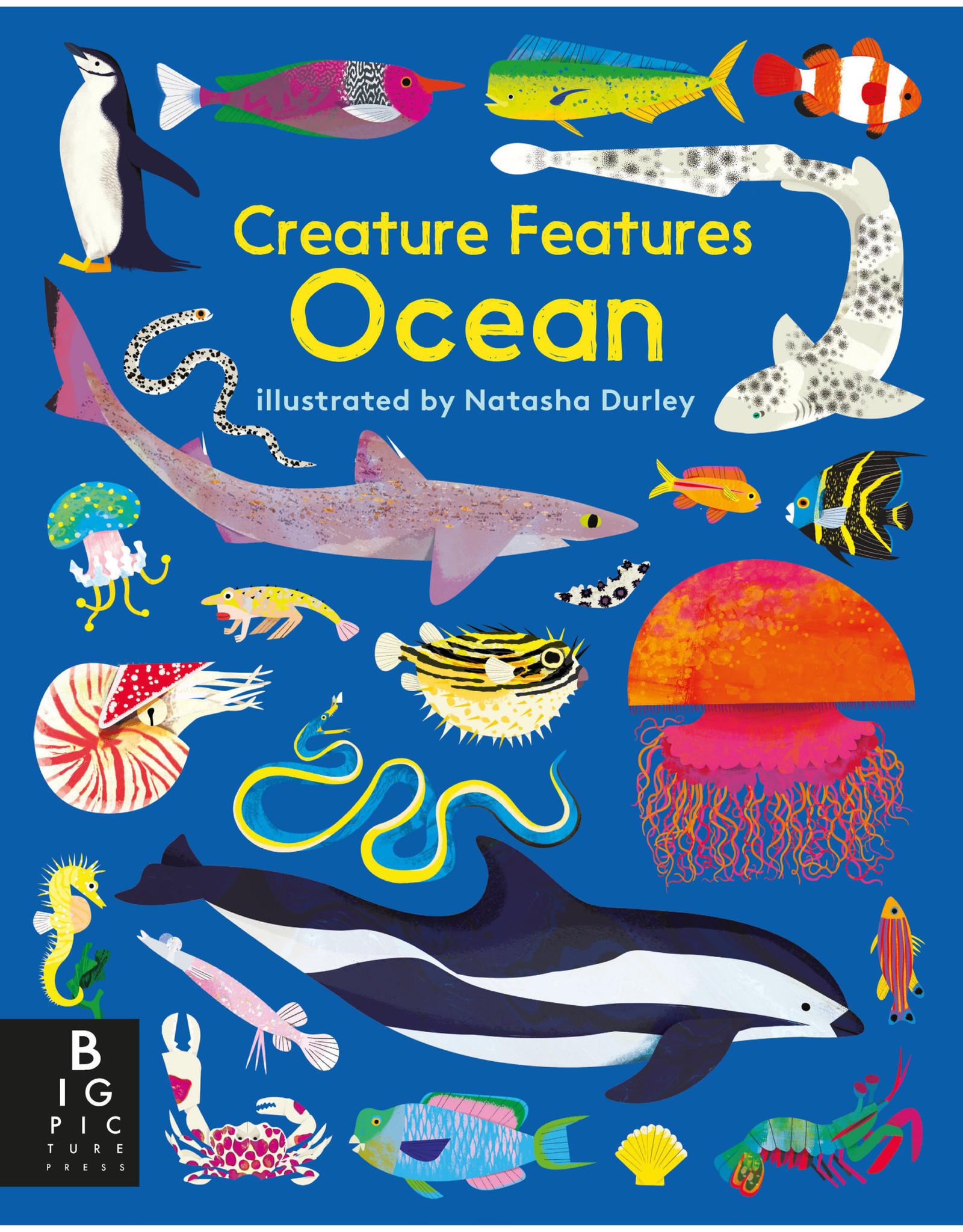 Big Picture Press Creature Features: Ocean