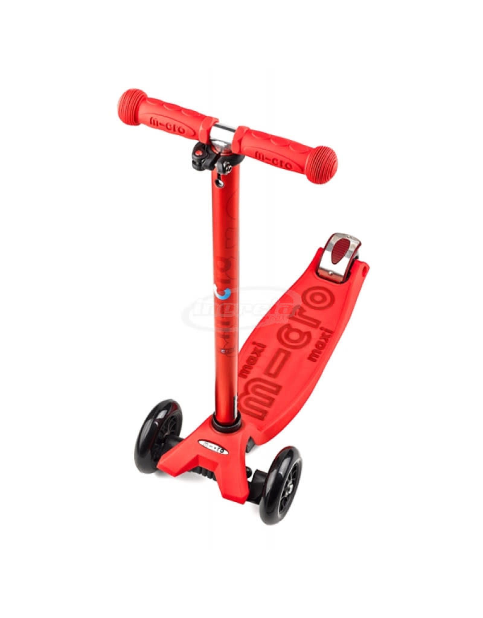 Kickboard Maxi Micro Deluxe - Red