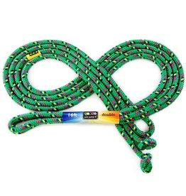 Just Jump It 16' Double Dutch Green Confetti Jump Rope