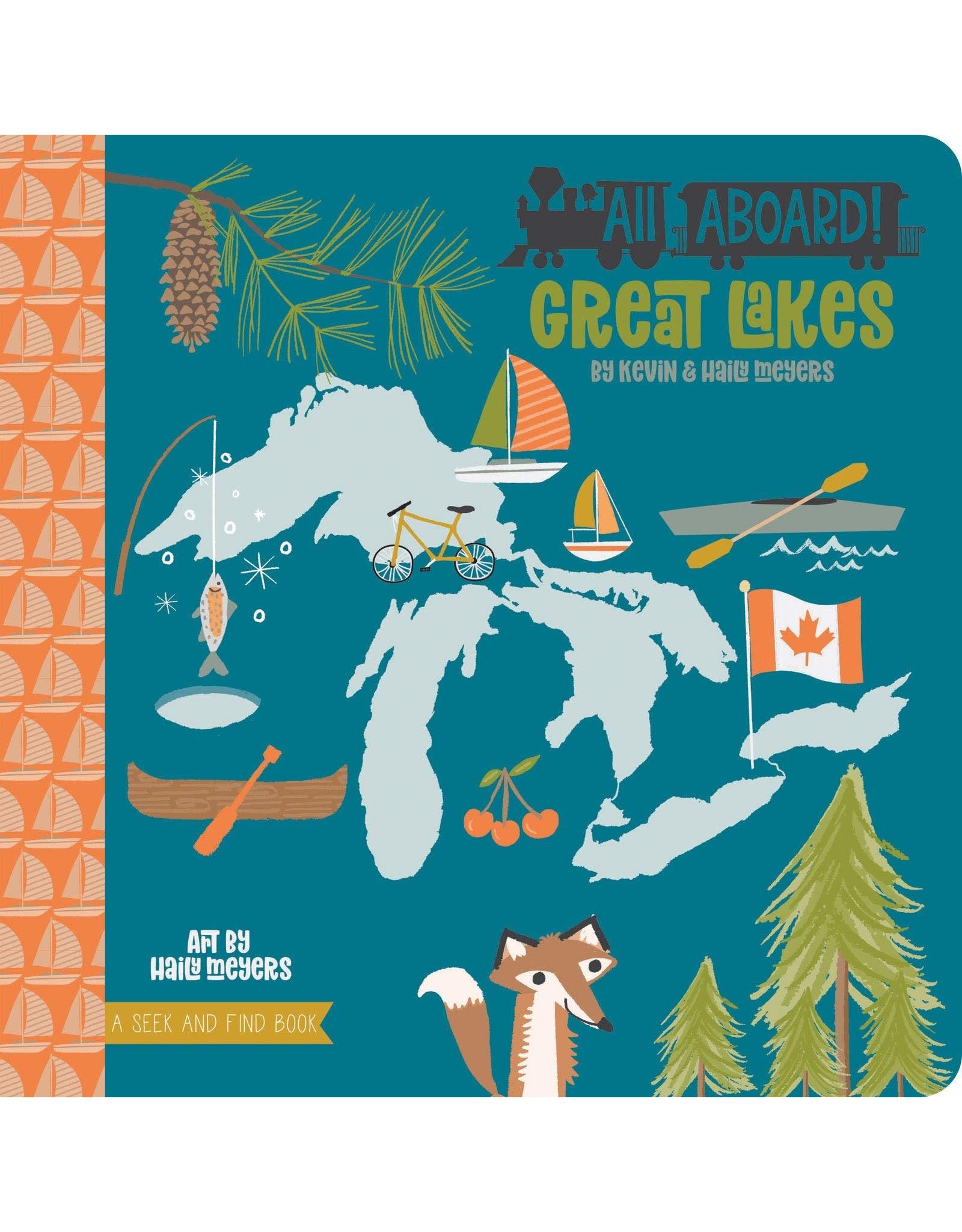 Raincoast Books All Aboard! Great Lakes