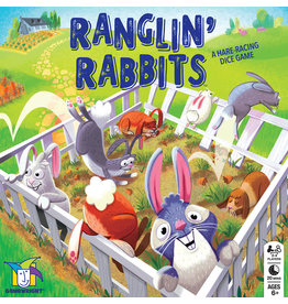 Gamewright Ranglin' Rabbits™ The Cooperative Hare-Racing Dice Game