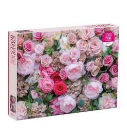 Galison English Roses 1000 Piece Puzzle