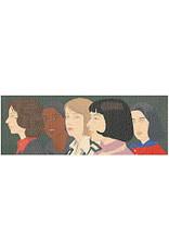 Galison MoMA Alex Katz Five Women Panoramic Puzzle