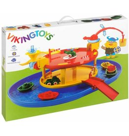 Viking Toys City Garage with Harbour