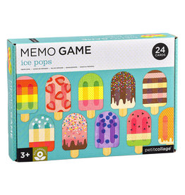 Petit Collage Ice Pops Memory Game