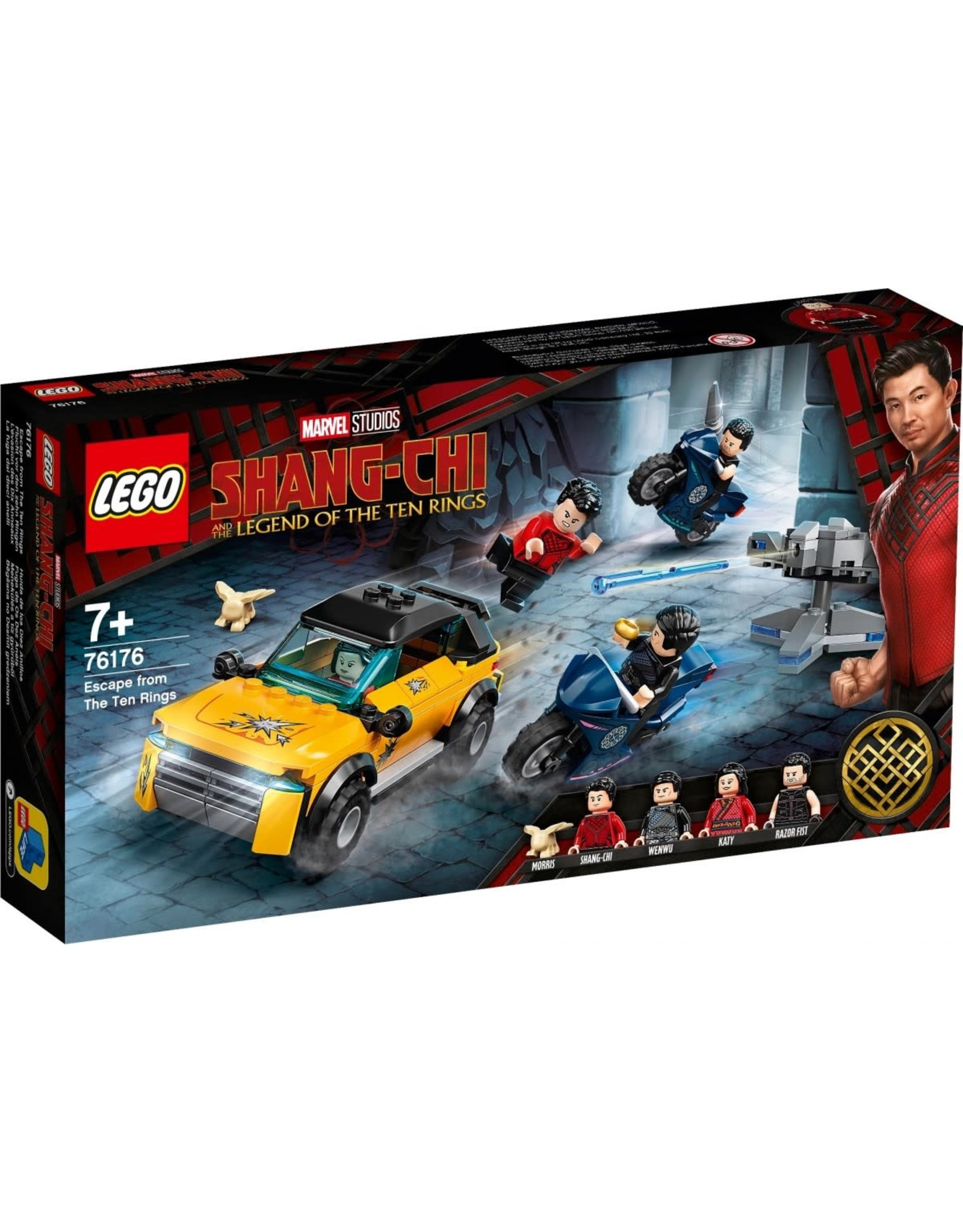 LEGO Super Heroes - 76176 - Shang-Chi and the Legend of the Ten Rings - Escape from the Ten Rings
