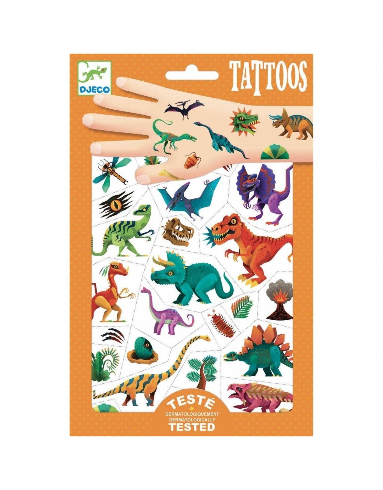 Djeco Dino Club Tattoos