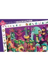 Djeco In A Video Game Observation Puzzle 200 Pc
