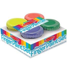 Melissa & Doug Finger Paint Set 4Pc