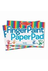 Melissa & Doug Finger Paint Paper Pad (30.5cm x 45.75cm)