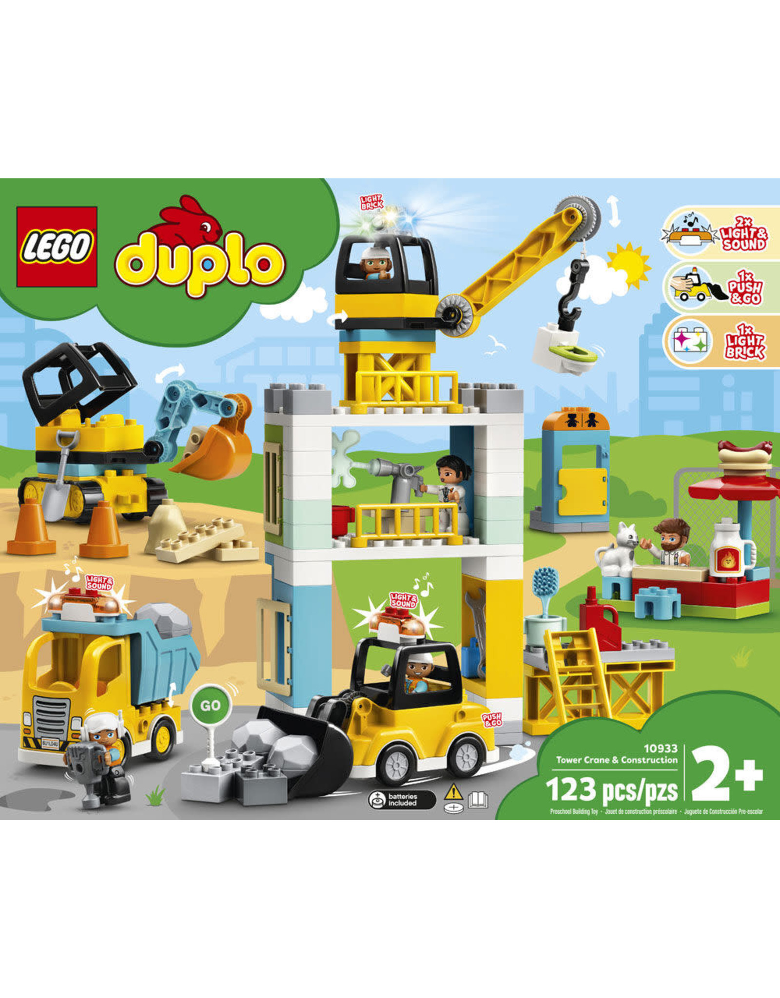 LEGO Duplo - 10933 - Tower Crane & Construction