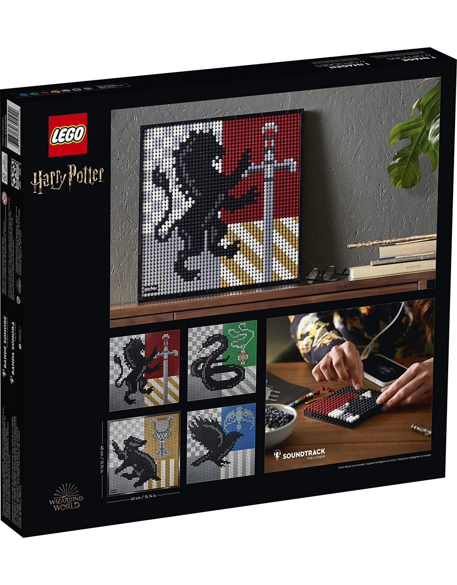 LEGO LEGO® Harry Potter™ Hogwarts™ Crests