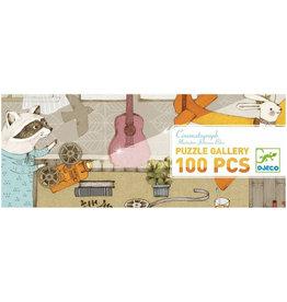 Djeco Cinematograph Gallery Puzzle 100pcs