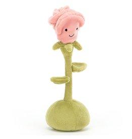 Jellycat Flowerette Rose