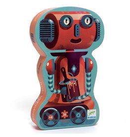 Djeco Bob the Robot Silhouette Puzzle 36pcs
