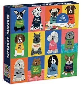 Galison Boss Dogs 500 Piece Family Puzzle