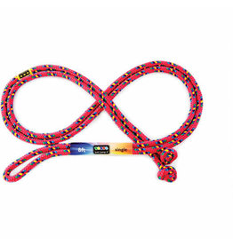 Just Jump It Red Confetti Jump Rope 8'