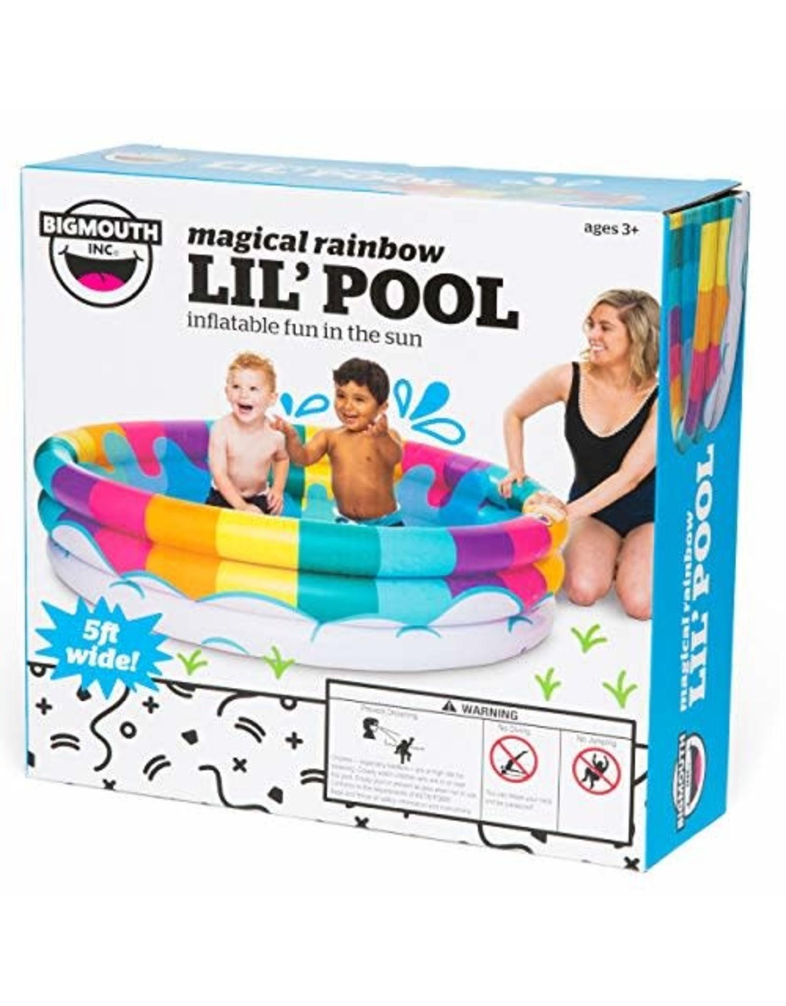Big Mouth Inc Rainbow Kiddie Pool