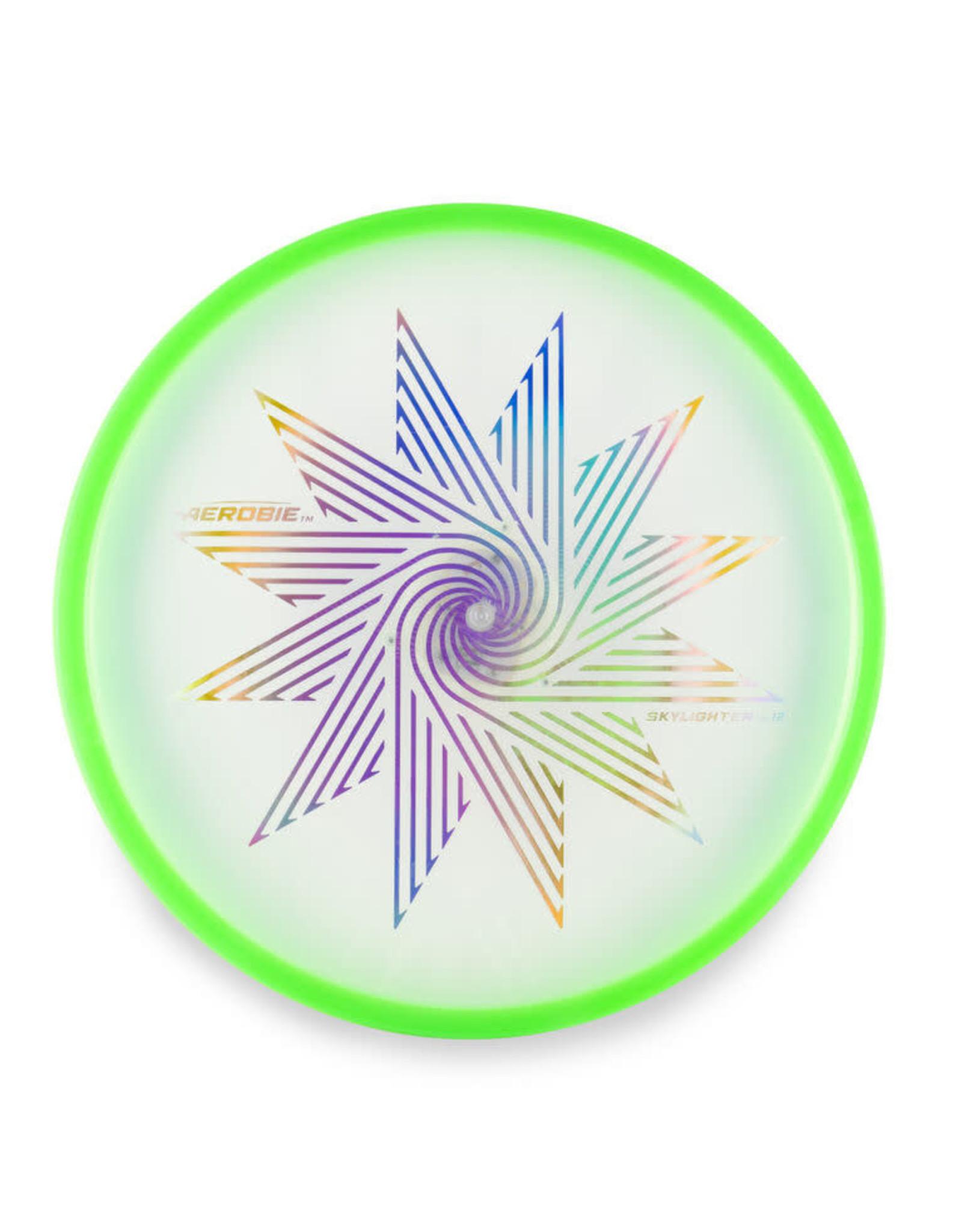 Aerobie Aerobie SkyLighter Light Up Flying Disk Green