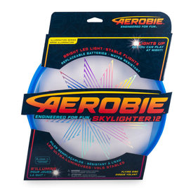 Aerobie Aerobie SkyLighter Light Up Flying Disk Blue