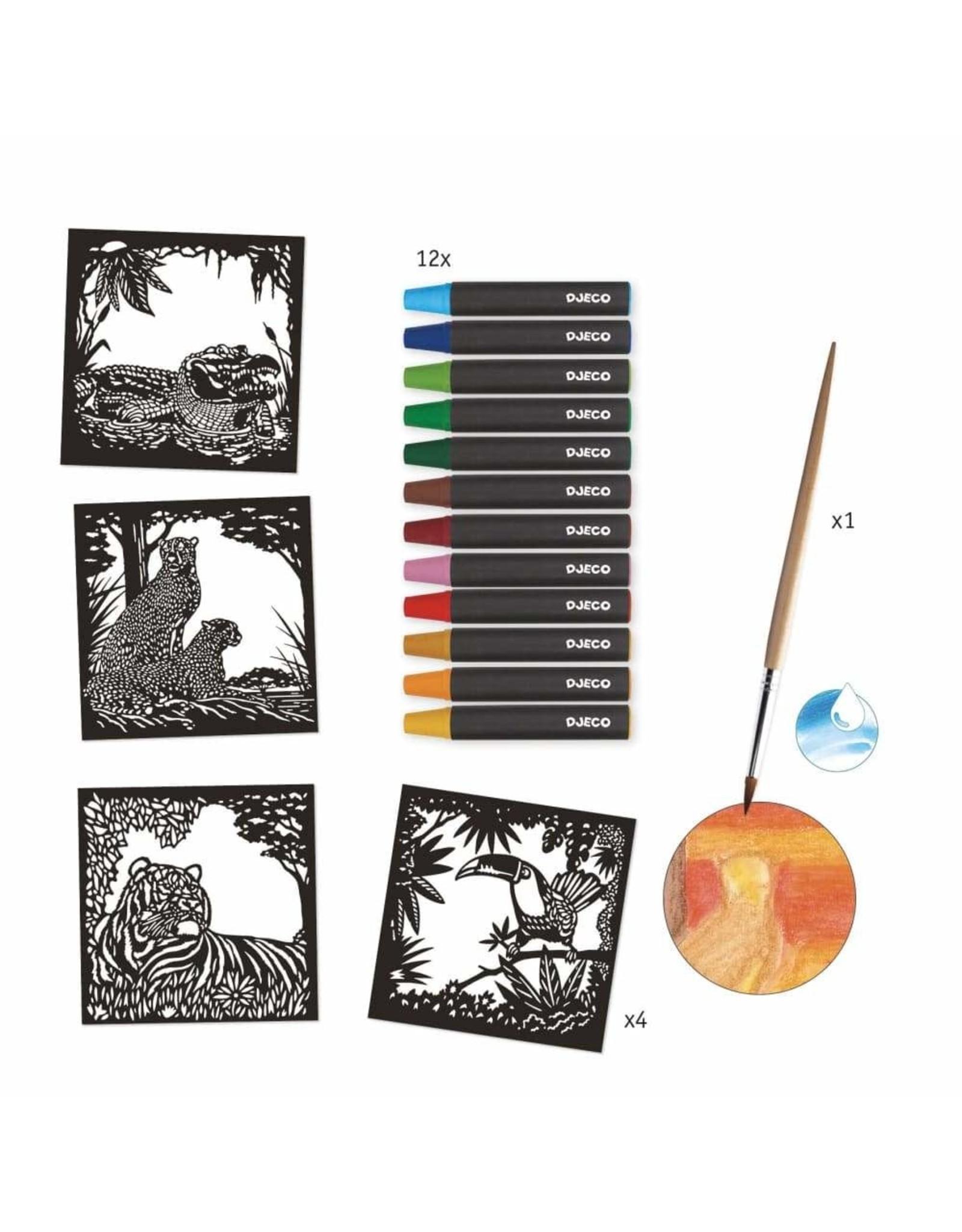 Djeco Backlight Watercolour Workshop