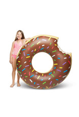 Big Mouth Inc CHOCOLATE DONUT POOL FLOAT