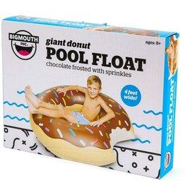 Big Mouth Inc Chocolate Doughnut Pool Float
