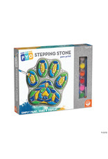 MindWare Paint-Your-Own Stepping Stone:Paw Print