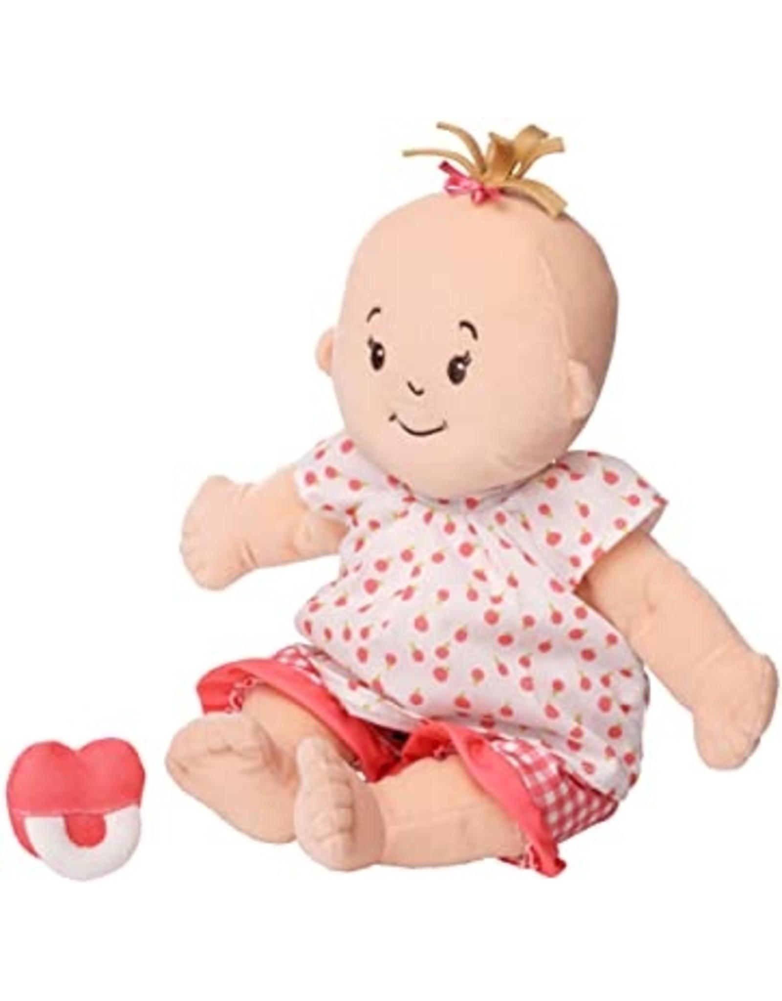 Manhattan Toy Baby Stella Peach Doll with Light Brown Hair