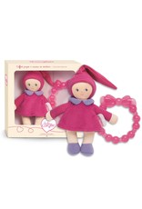 Grenadine Mini Miss And Baby Teether Doll