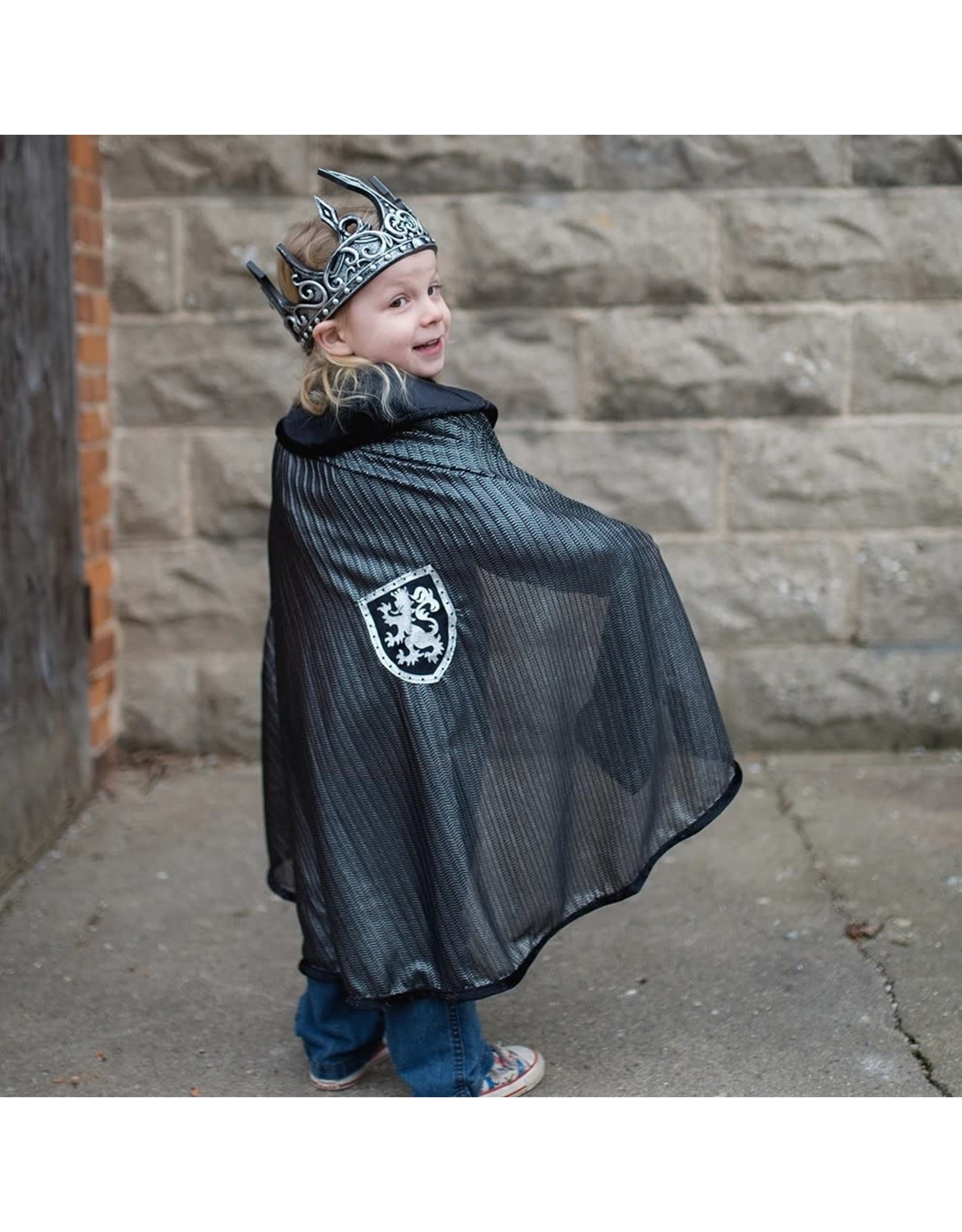 Great Pretenders Chainmail Cape Silver Size 4-7