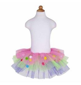 Great Pretenders Pom Pom Skirt Multi Size 4-7