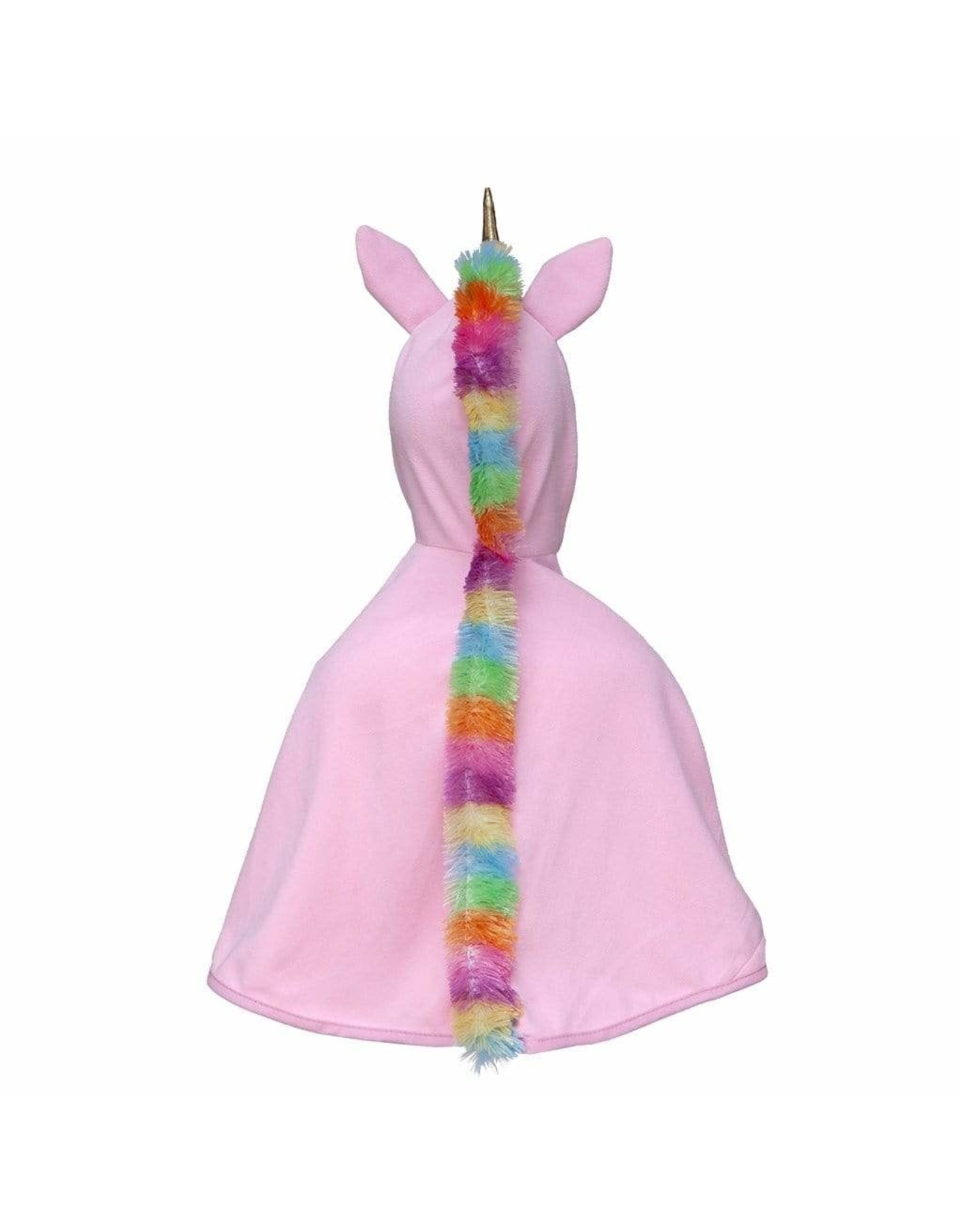 Great Pretenders Unicorn Cape, Pink, Size 3-4